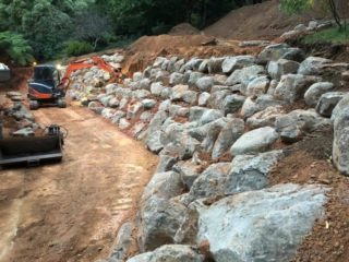 How stone can help control water erosion in your landscape