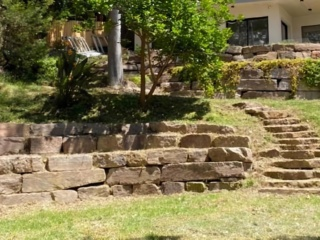 Natural stone stairs to enhance your landscape